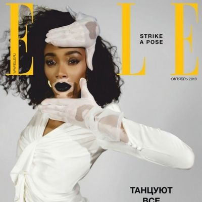 Winnie Harlow @ Elle Russia October 2019