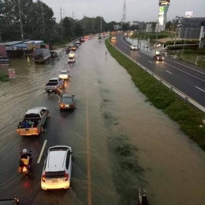 น้ำท่เมืองอุบลราชธานี 2562