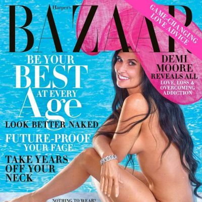 Demi Moore @ Harper's Bazaar US October 2019