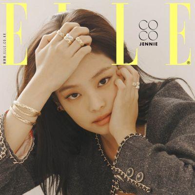 (BLACKPINK) Jennie @ ELLE Korea October 2019