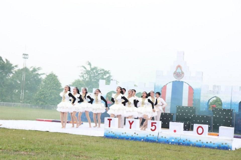 สวยปังอลังเวอร์  มงไม่ลงไม่รู้แล้ว กีฬาสีโรงเรียนแม่ลาววิทยาคม 62  สีชมพู