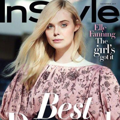 Elle Fanning @ InStyle US November 2019