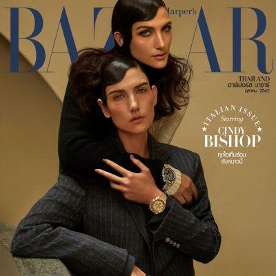 ซินดี้-สิรินยา บิชอพ @ Harper's Bazaar Thailand October 2019