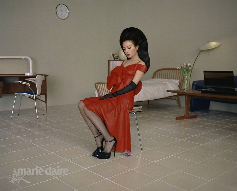 Zhao Wei @ Marie Claire China November 2019