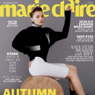 Chloe Grace Moretz @ Marie Claire Korea November 2019