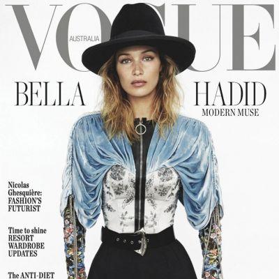 Bella Hadid @ Vogue Australia November 2019