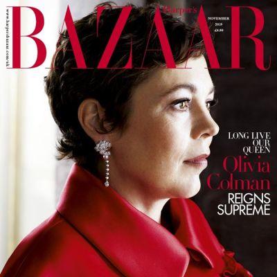 Olivia Colman @ Harper's Bazaar UK November 2019