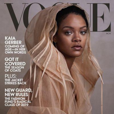 Rihanna @ Vogue US November 2019