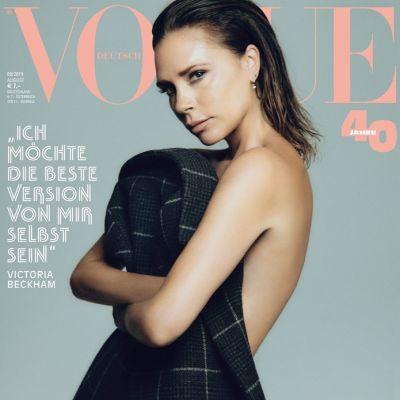 Victoria Beckham @ Vogue Germany August 2019
