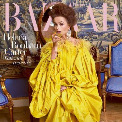 Helena Bonham Carter @ Harper's Bazaar UK December 2019
