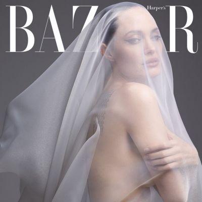 Angelina Jolie @ Harper's Bazaar US December 2019