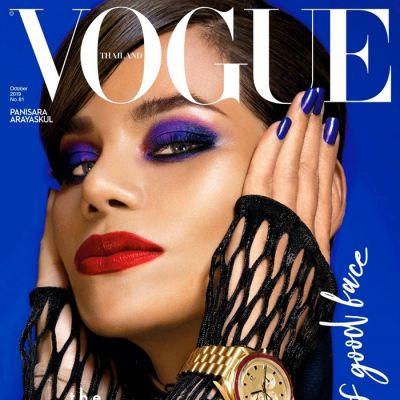 โอปอล์-ปาณิสรา & TRINITY @ Vogue Thailand October 2019