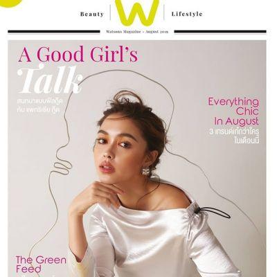 แพทริเซีย กู๊ด @ Watsons Magazine August 2019