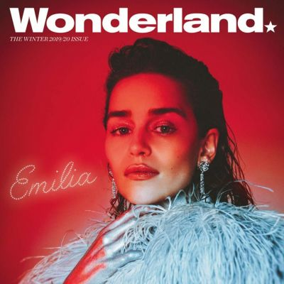 Emilia Clarke @ Wonderland Magazine Winter 2019