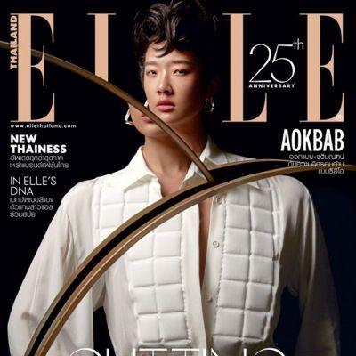 ออกแบบ-ชุติมณฑน์ @ ELLE Thailand November 2019