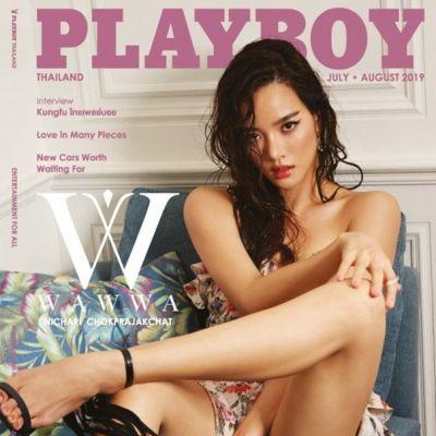 วาววา-ณิชชา @ Playboy Thailand July-August 2019