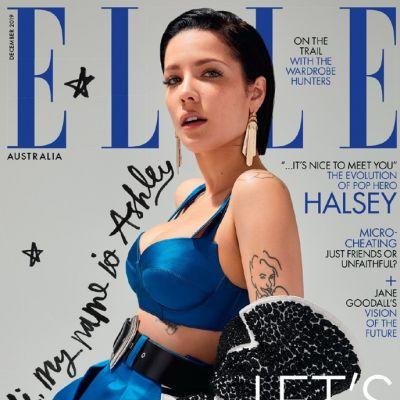 Halsey @ Elle Australia December 2019