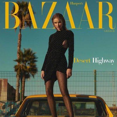 Rosie Huntington Whiteley @ Harper's Bazaar Greece December 2019