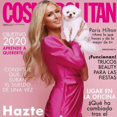 Paris Hilton @ Cosmopolitan España December 2019