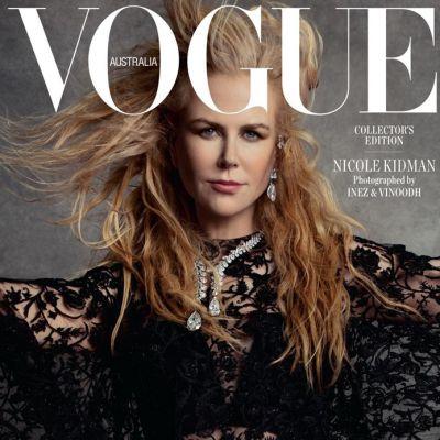 Nicole Kidman @ Vogue Australia December 2019