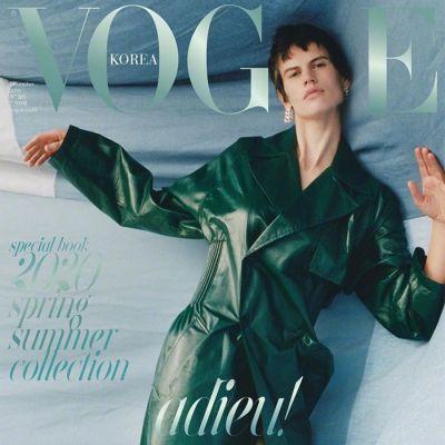Saskia de Brauw & WayV @ Vogue Korea December 2019