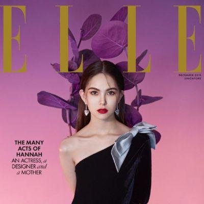 Hannah Quinlivan @ ELLE Singapore December 2019