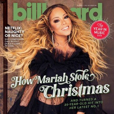 Mariah Carey @ Billboard Magazine December 2019