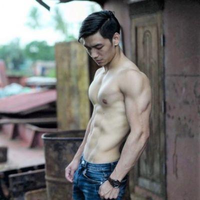 Linn Maung  นายแบบชาวพม่า เขาหล่อ เขาหล่อมาก