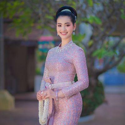 ชุดไทยบรมพิมาน, Thai wedding dress