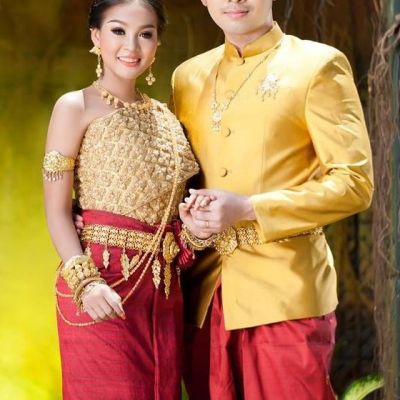 ชุดแต่งงานเขมรสไตล์ไทย