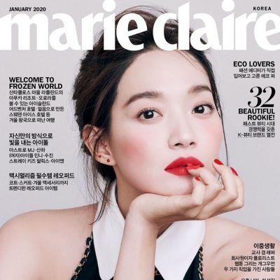 Shin Min Ah @ Marie Claire Korea January 2020