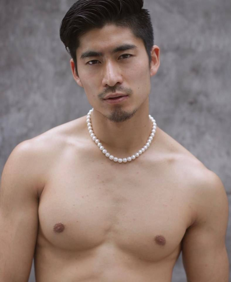 Men with necklace