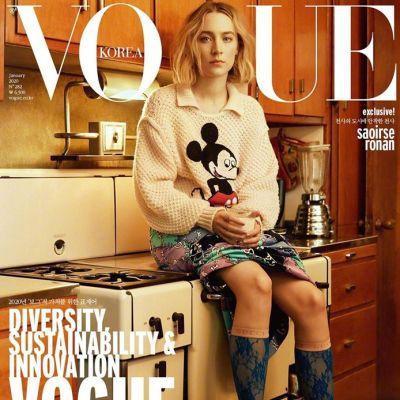 Saoirse Ronan @ Vogue Korea January 2020