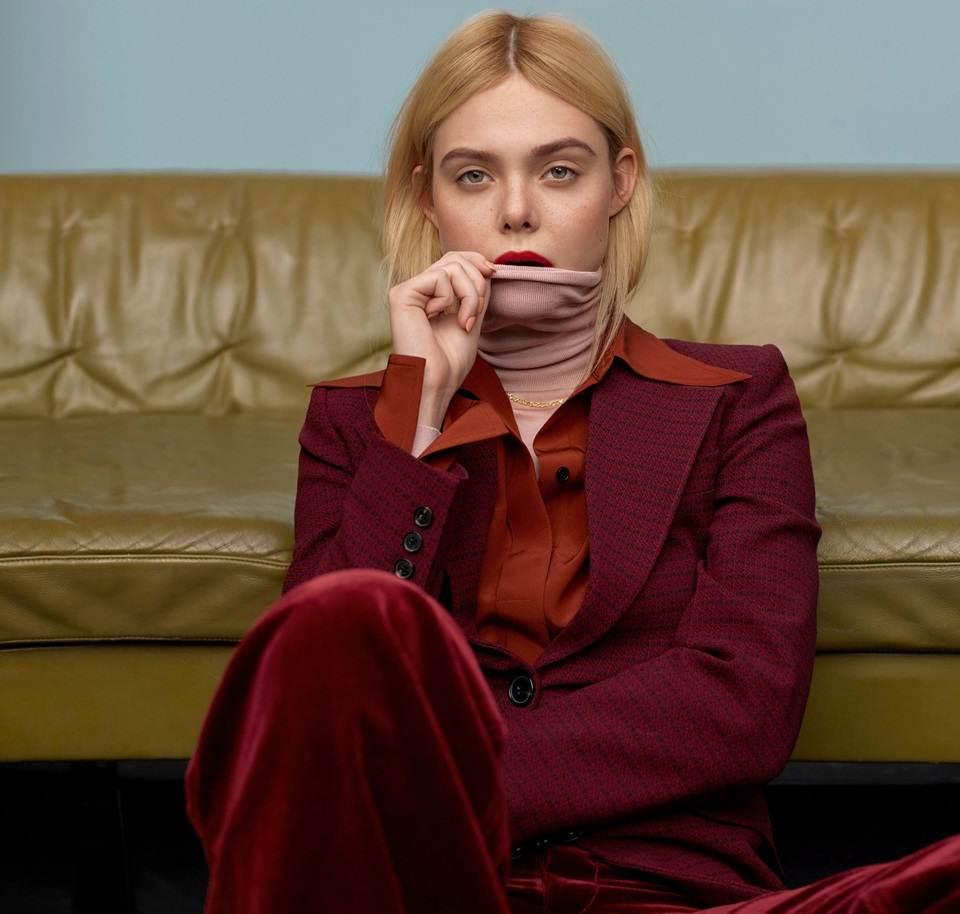 Elle Fanning @ Marie Claire US February 2020