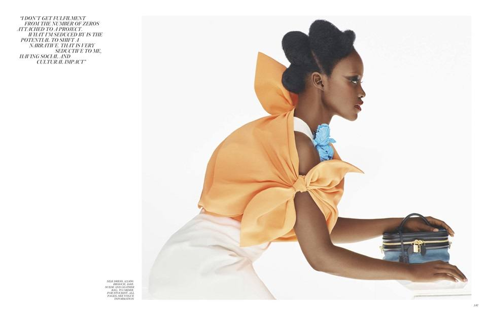 Lupita Nyong'o @ Vogue UK February 2020