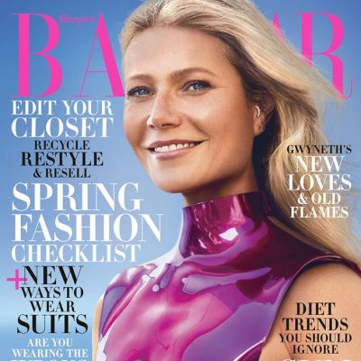 Gwyneth Paltrow @ Harper's Bazaar US February 2020
