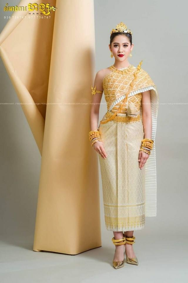 Thai traditional dress.