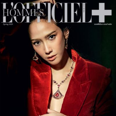 อั้ม-พัชราภา @ L'Officiel Hommes Thailand February 2020