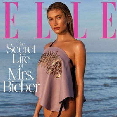 Hailey Bieber @ Elle US March 2020