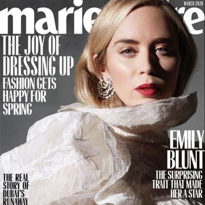 Emily Blunt @ Marie Claire US March 2020