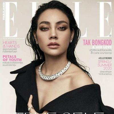 ตั๊ก บงกช @ Elle Thailand February 2020