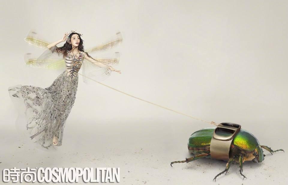 Angelababy @ Cosmopolitan China March 2020
