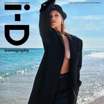 Kate Moss @ i-D Spring 2020