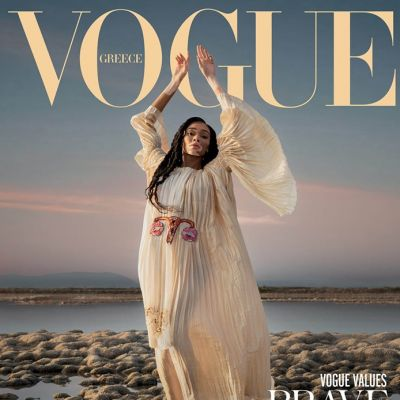 Winnie Harlow @ Vogue Greece February 2020