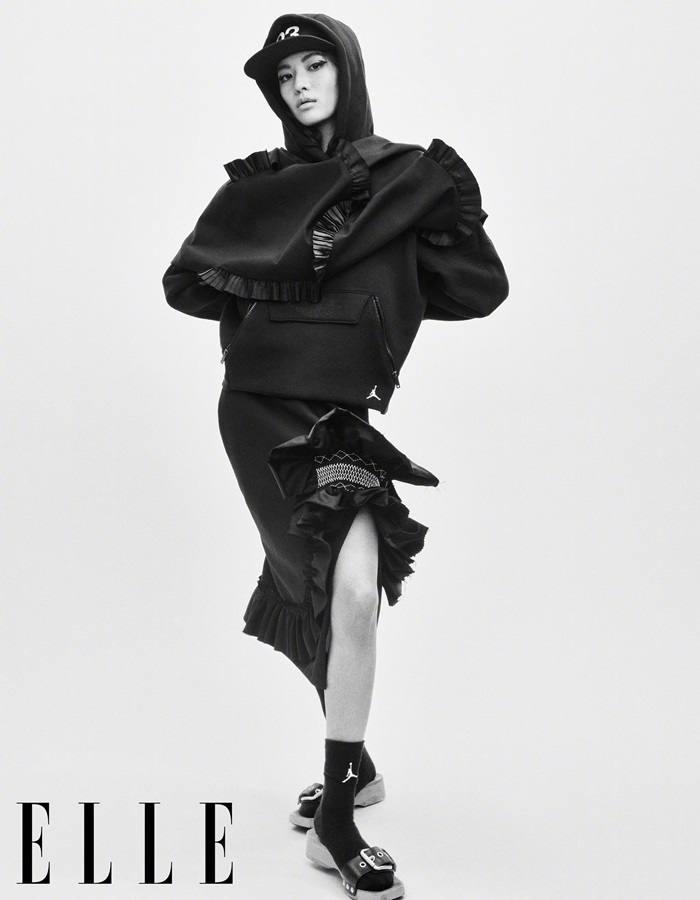 Elaine Zhong @ Elle China March 2020