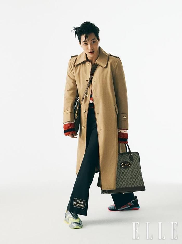 Kai @ Elle Korea April 2020