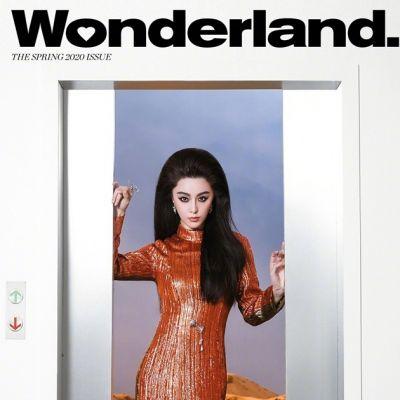 Fan Bingbing @ Wonderland Magazine Spring 2020