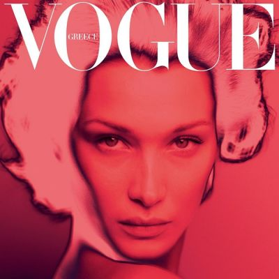 Bella Hadid @ Vogue Greece April 2020
