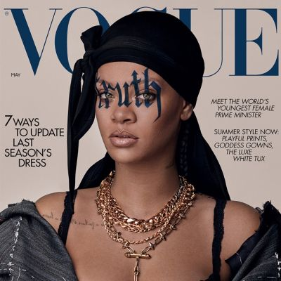 Rihanna @ Vogue UK May 2020