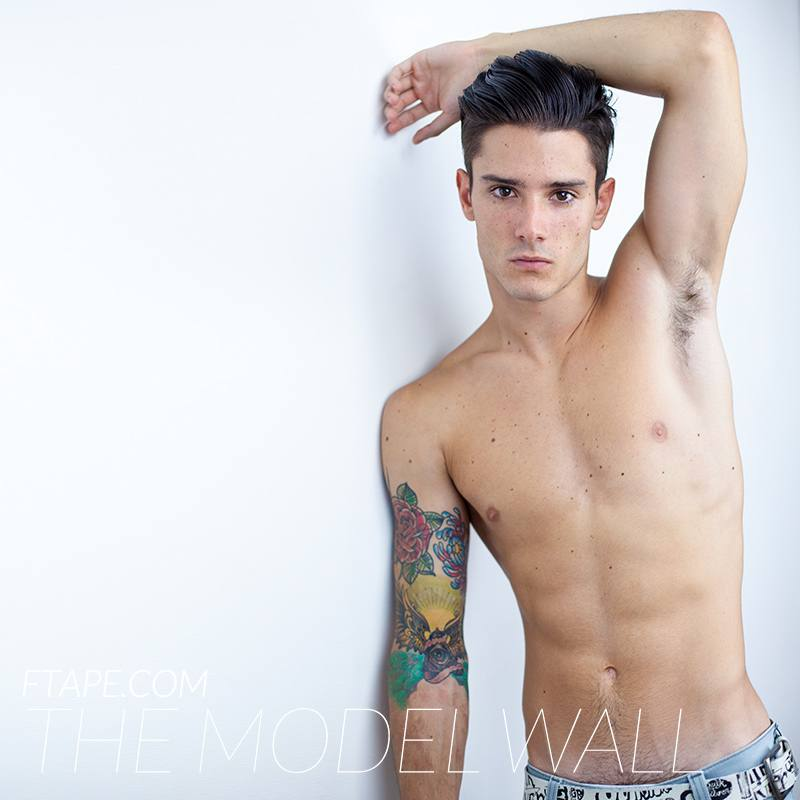 Diego Barrueco นายแบบเพลย์บอยสเปนสุด hot